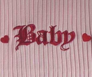 aesthetic, baby, and pink image