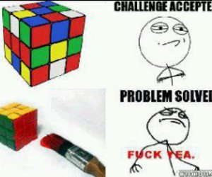 cheating, lol, and like a boss image