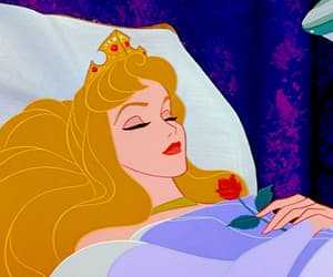 disney, sleeping beauty, and aurora image