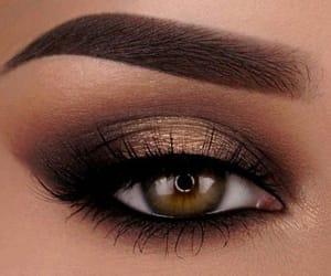 green eyes, make up, and makeup image