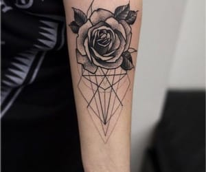 black, tattoo, and Grafik image