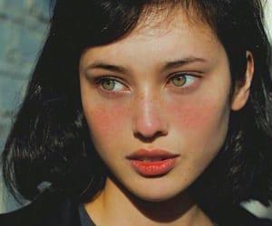 beautiful eyes and beautiful girl image