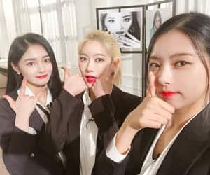 k-pop, rena, and ioi image