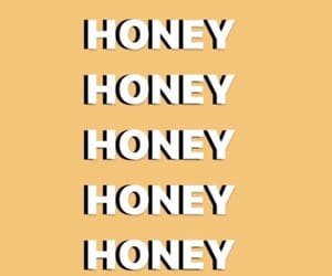 honey, text, and words image