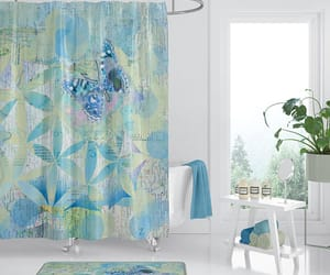 etsy, fabric shower, and beautiful shower image