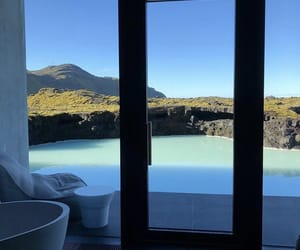 spa, trip, and blue lagoon iceland image