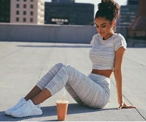 fitness, outfit, and goals image