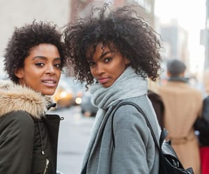 hair style, street style, and womenswear image