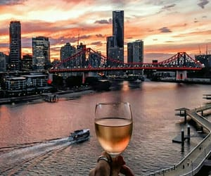 amazing, drink, and sunset image