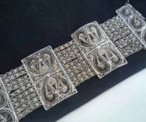 etsy, sterling silver, and victorian jewelry image