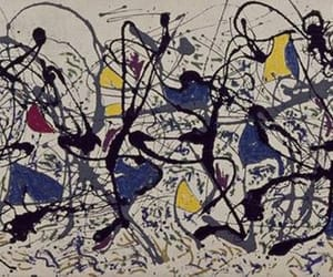 abstract, art, and Jackson Pollock image