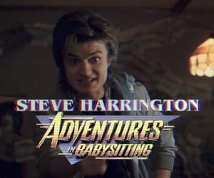 steve harrington, stranger things, and eleven image