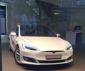 Tesla and model s image