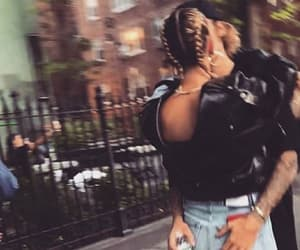 new york, justin bieber, and hailey baldwin image