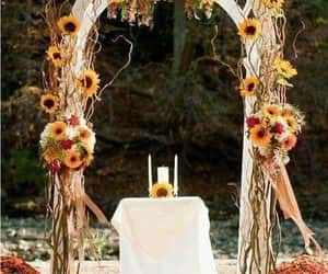 ceremonies, decoration, and flowers image