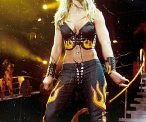 blonde, fire, and pop music image