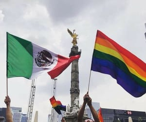 flags, football, and lgbt image