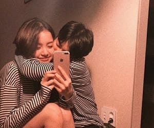 couple, ulzzang, and pale image