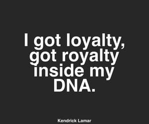 DNA, loyalty, and inside image