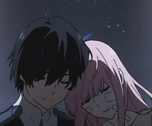 darling in the franxx, anime, and anime boy image