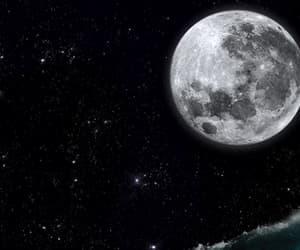 surf, gif, and moon image