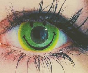 aesthetic, eye, and scary image