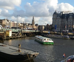 amsterdam, building, and buildings image