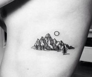 tattoo and mountain image