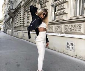 Balenciaga, beauty, and blonde image