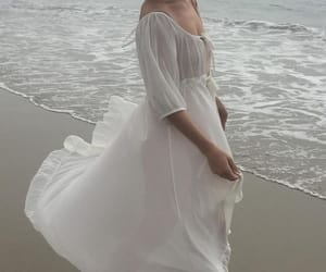 dress, aesthetic, and white image