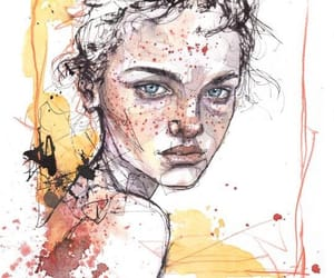artistic, expressive, and female image