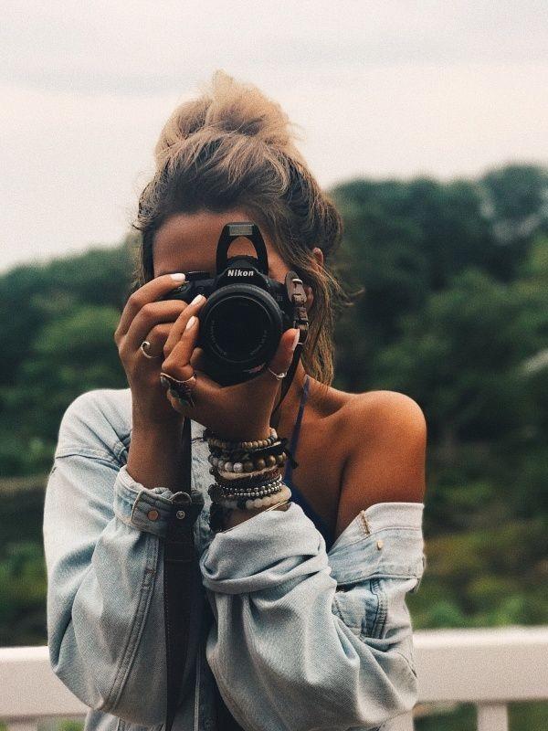 girl, photography, and camera image