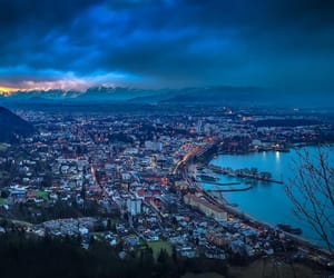 city, ocean, and travel image