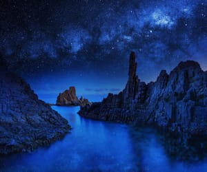 blue, galaxy, and travel image