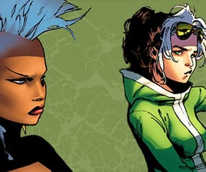 Marvel, Rogue, and ororo munroe image