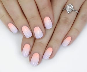 beautiful, ombre, and polish image