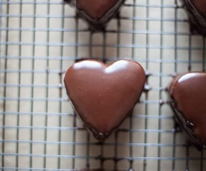 beautiful, heart, and chocolate image