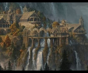 lord of the ring and rivendell image