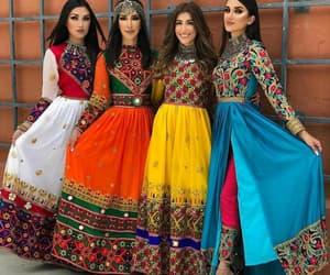 fashion, afghan, and beauty image