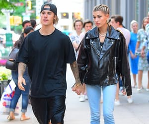 couple, justin bieber, and hailey baldwin image