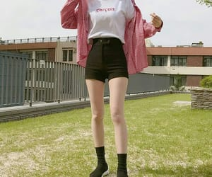 girl, ulzzang, and clothes image