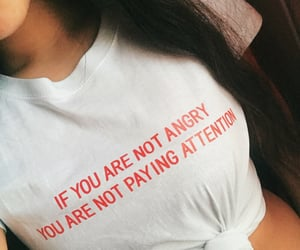 aesthetic, angry, and feminist image
