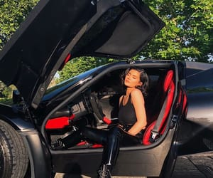 kylie jenner, car, and black image