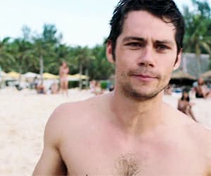 actor, gif, and dylan o'brien image