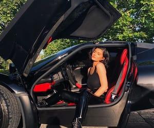 kylie jenner, car, and black image
