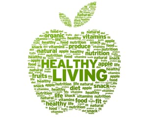 healthy living and lifestyle image