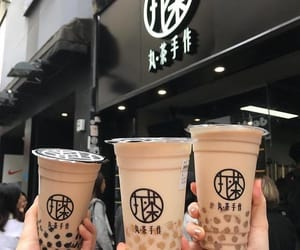 bubble tea, food, and yummy image