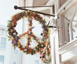 flowers and peace image