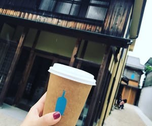 blue bottle, kyoto, and coffee image
