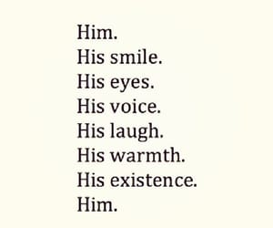 love, him, and smile image
